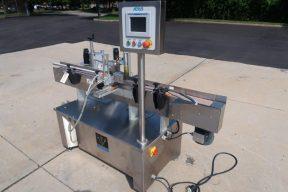 Aesus Eco Wrap Prism Automatic Inline Pressure Sensitive Labeler
