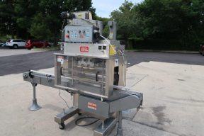 Kaps-All A6 Automatic Stainless Screw Capping Machine, 200 per minute