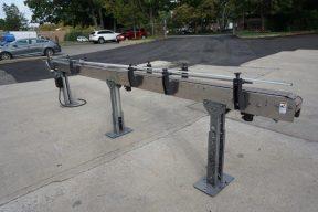 SureKap 4-1/2 In. Wide X 16 Ft. Long Motorized Bottle Conveyor,  Variable Speed