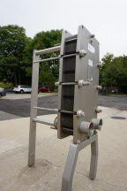 Alfa Laval 41 Plate Stainless Steel Heat Exchanger, 100 Sq. Ft.