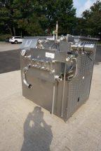 Waukesha/Cherry Burrell 2,400 GPH Homogenizer/Plunger Pump, 75 HP Motor