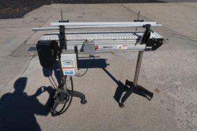 Dorner 8 In. X 48 In. Motorized Conveyor, Variable Speed