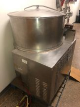 Cleveland Range SS 80 Gallon Self Contained Gas Fired Scraper Agitated Kettles ( 2 )